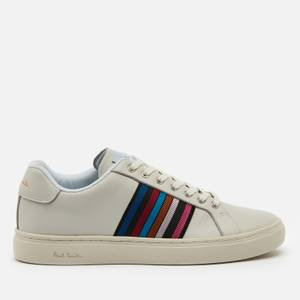 Paul Smith Women's Lapin Leather Cupsole Trainers - Off White/Multi Webbing