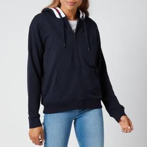 Tommy Hilfiger Women's Full Zip Hoodie - Desert Sky
