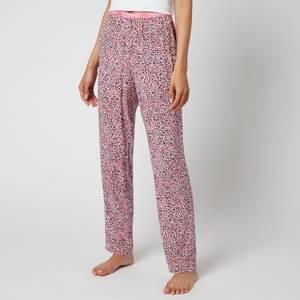 Tommy Hilfiger Women's Woven Print Pyjama Trousers - MULTI -