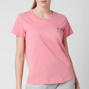 Tommy Hilfiger Women's Short Sleeve T-Shirt - Hamptons Pink -
