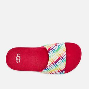 UGG Kids' Beach Sliders - Rainbow