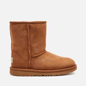 UGG Kids' Classic II Short Boots - Chestnut