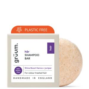 grüum Hår Zero Plastic Shine Enhancing Shampoo Bar 50g