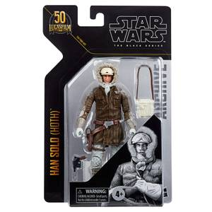 Figurine Articulée Han Solo (Hoth) - Hasbro Star Wars The Black Series Archive