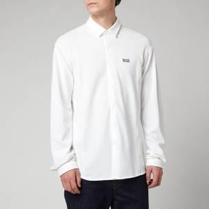 BOSS Athleisure Men's Banzi Long Sleeve Shirt - White
