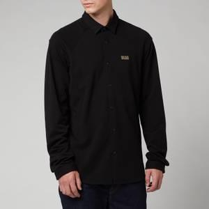 BOSS Athleisure Men's Banzi Long Sleeve Shirt - Black