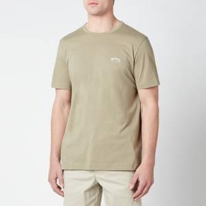 BOSS Athleisure Men's Curved T-Shirt - Dark Green