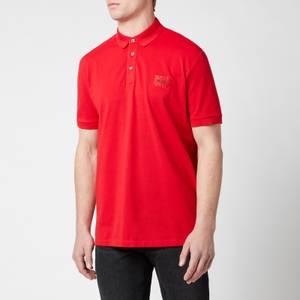 HUGO Men's Dereso212 Polo-Shirt - Red