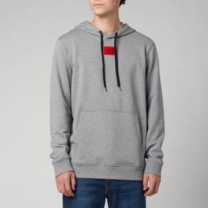 HUGO Men's Daratschi212 Hoodie - Medium Grey