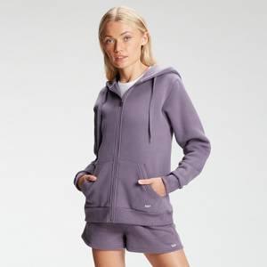 MP Women's Essentials Zip Through Hoodie - Smokey Purple