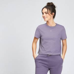 MP Women's Essentials Crop T-Shirt - Smokey Purple