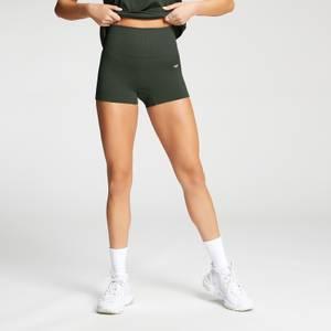 MP Women's Shape Seamless Booty Shorts - Vine Leaf