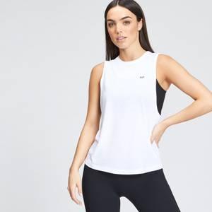 MP Women's Essentials Training Drop Armhole Vest - White