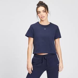 MP Women's Essentials Crop T-Shirt - Navy