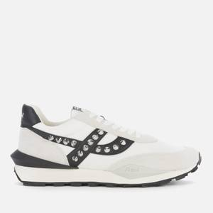 Ash Women's Spider Studs Sustainable Running Style Trainers - White/Off White
