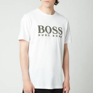 BOSS Casual Men's Tlogo 21 T-Shirt - White