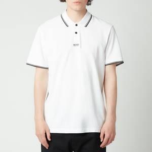 BOSS Casual Men's Pchup Polo Shirt - White