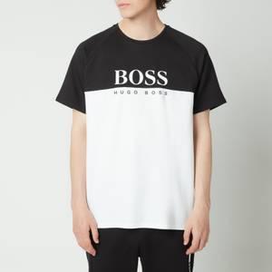 BOSS Bodywear Men's Jacquard T-Shirt - Black