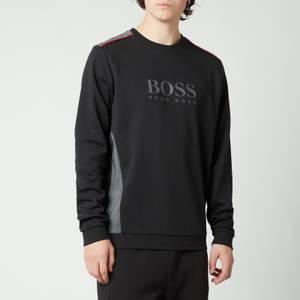 BOSS Bodywear Men's Tracksuit Logo Sweatshirt - Black