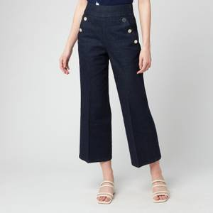 Kate Spade New York Women's Sailor Denim Pant - Indigo
