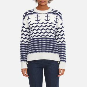 Kate Spade New York Women's Anchor Sweater - French Cream