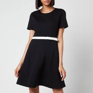 Kate Spade New York Women's Bow Waist Ponte Dress - Black