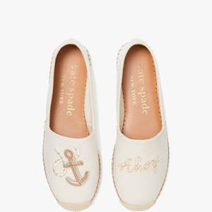 Kate Spade New York Women's Tippy Espadrilles - Parchment