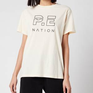 P.E Nation Women's Heads Up T-Shirt - Pearled Ivory