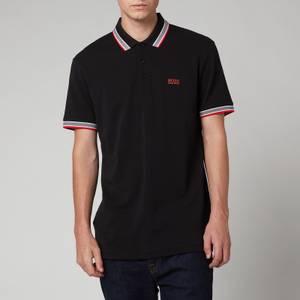 BOSS Athleisure Men's Paddy Pique Polo-Shirt - Black