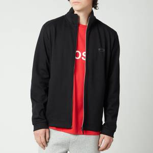 BOSS Athleisure Men's Skaz Zip Through Sweatshirt - Black