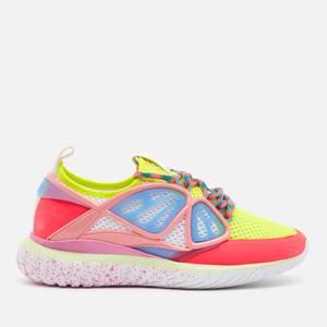 Sophia Webster Women's Fly-By Running Style Trainers - Fluro leoem/Pink
