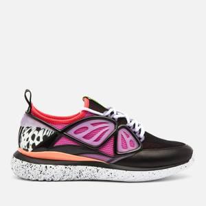 Sophia Webster Women's Fly-By Running Style Trainers - Black/Purple