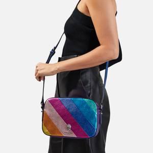 Kurt Geiger London Women's Kensington Metallic Cross Body Bag - Multi