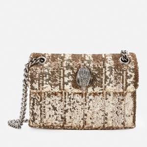 Kurt Geiger London Women's Sequins Mini Kensington Bag - Gold