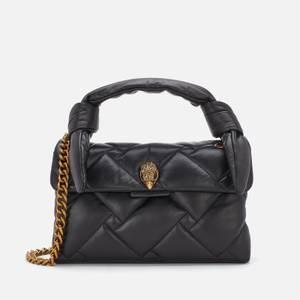 Kurt Geiger London Women's Kensington Quilted Handle Bag - Black