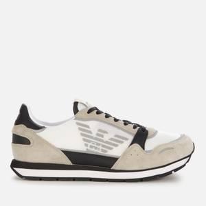 Emporio Armani Men's Running Style Trainers - Grey