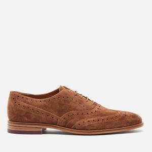 Ted Baker Men's Fedinos Suede Oxford Shoes - Tan