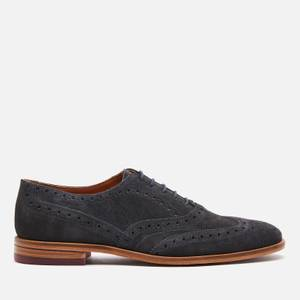 Ted Baker Men's Fedinos Suede Oxford Shoes - Navy