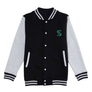 Riverdale South Side Serpent Men's Varsity Jacket - Black / Grey