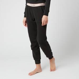 Calvin Klein Women's Joggers - Black/Honey Almond