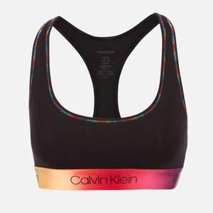 Calvin Klein Women's Pride Bralette - Black