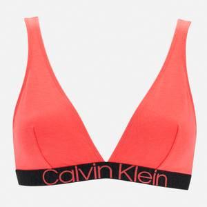 Calvin Klein Women's Unlined Triangle Bra - Punch Pink