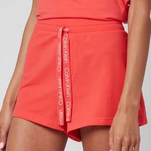 Calvin Klein Women's Jersey Shorts - Coral