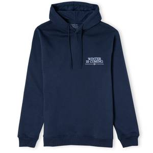Game of Thrones Winter Is Coming Unisex Hoodie - Navy