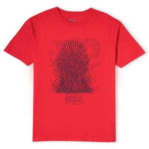 Game of Thrones The Iron Throne Men's T-Shirt - Red