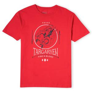 Game of Thrones House Targaryen Men's T-Shirt - Red