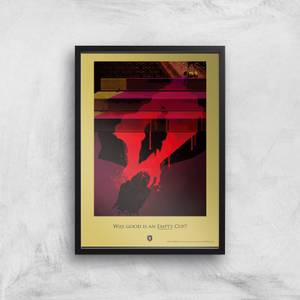 Game of Thrones Empty Cup Affiche Artistique