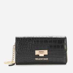 Valentino Bags Women's Anastasia Wallet with Chain - Black