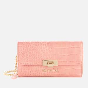 Valentino Bags Women's Anastasia Wallet with Chain - Pink