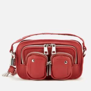 Núnoo Women's Helena Smooth Cross Body Bag - Raspberry